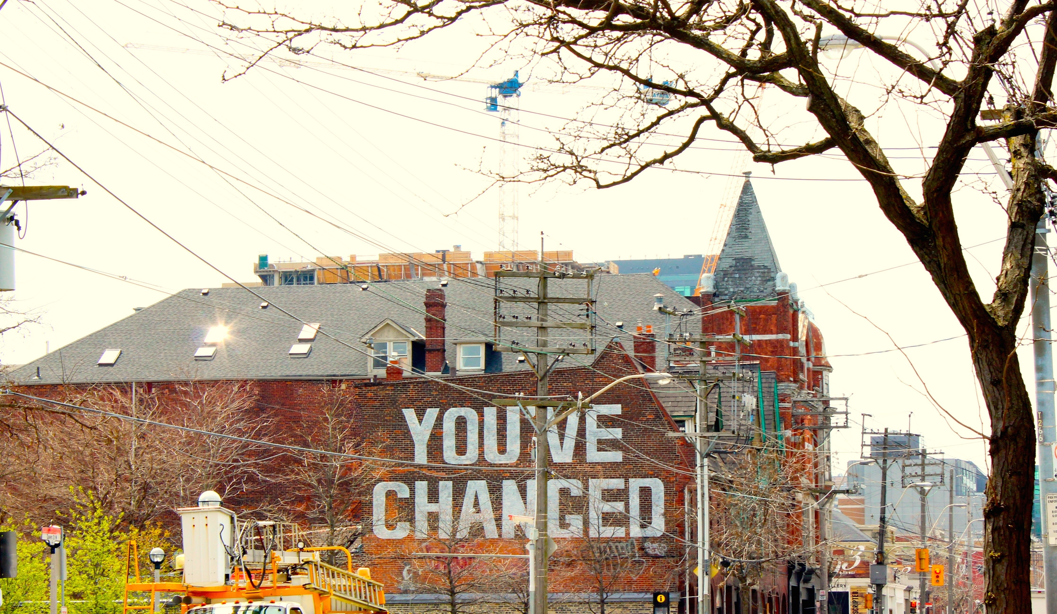 You've Changed Mural