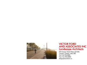 Victor Ford Associates Landscape Architects Website Pins Needles Acupuncture 955 Queen Street West